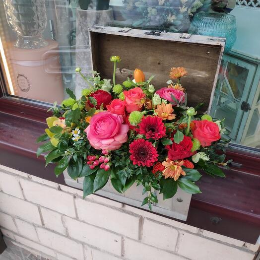 Цветы в Сундуке