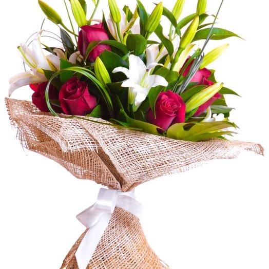 Букет Стилилия: букеты цветов на заказ Flowwow