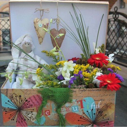 Кукольный театр: букеты цветов на заказ Flowwow
