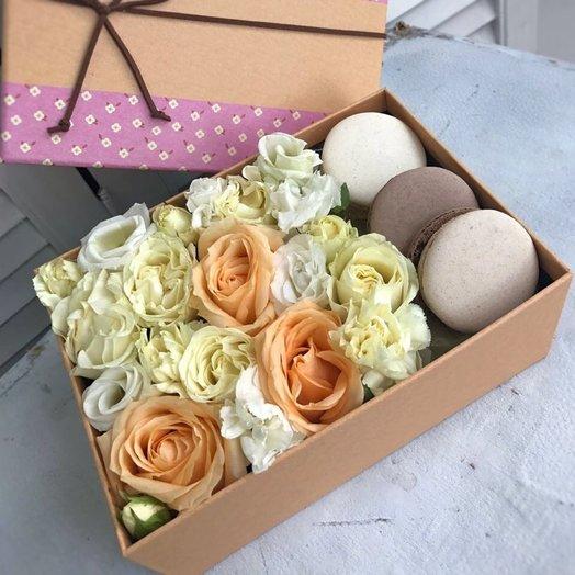 Персиковые нежности: букеты цветов на заказ Flowwow