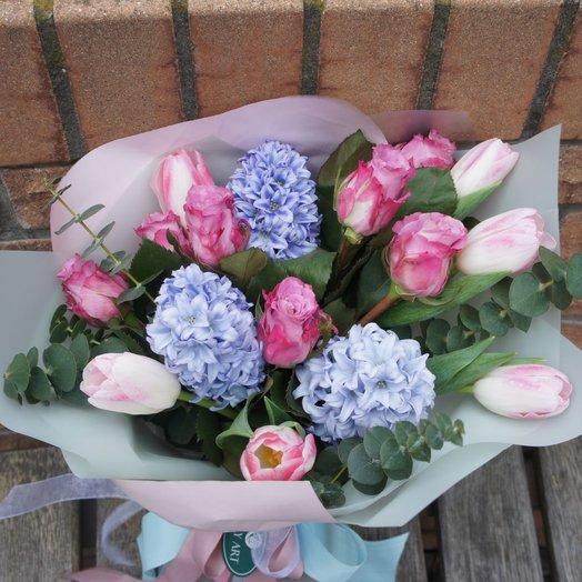 Праздничная весна: букеты цветов на заказ Flowwow