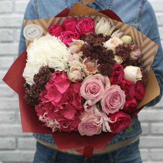 Букет 0941: букеты цветов на заказ Flowwow