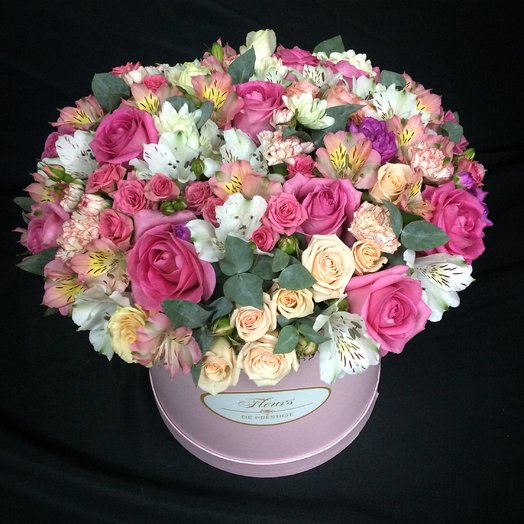 Flower box: flowers to order Flowwow