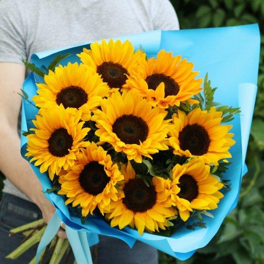 Энергичный Рон: букеты цветов на заказ Flowwow