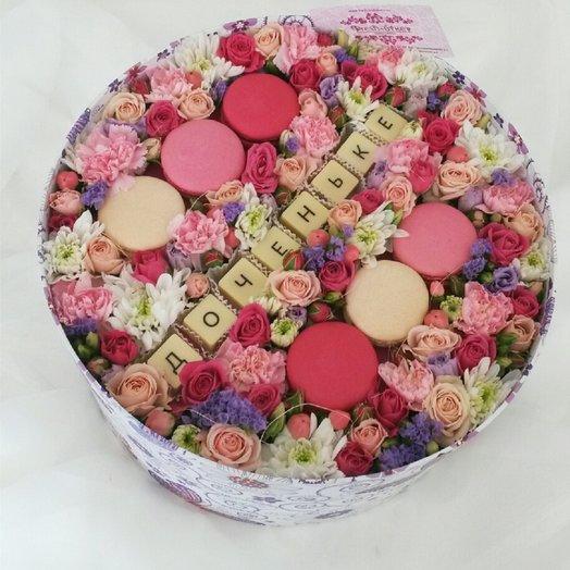 Подарок для доченьки: букеты цветов на заказ Flowwow