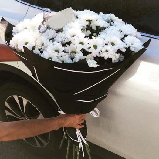 Черно-белое: букеты цветов на заказ Flowwow
