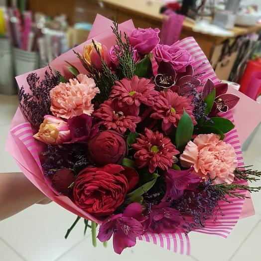 Сочный розовый