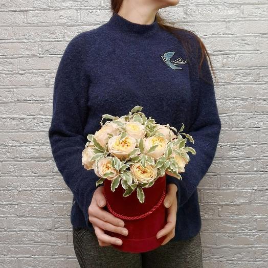 Vuvuzella в коробке ассотри: букеты цветов на заказ Flowwow