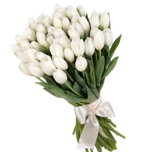 Нежный рассвет 51шт: букеты цветов на заказ Flowwow