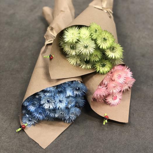 Сухоцветный мини-букетик: букеты цветов на заказ Flowwow