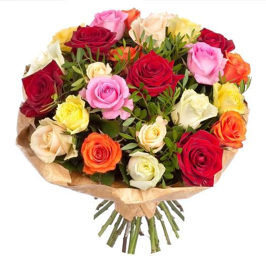 """Букет из 31 розы """"Драгоценная шкатулка"""": букеты цветов на заказ Flowwow"""