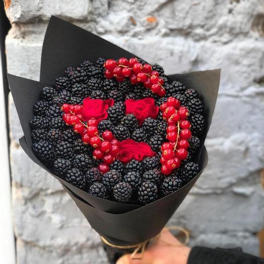 Букет из ежевики: букеты цветов на заказ Flowwow