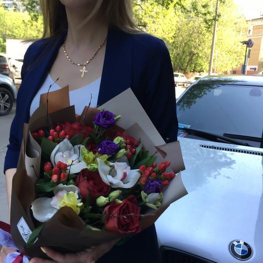 Мой цвет настроения: букеты цветов на заказ Flowwow