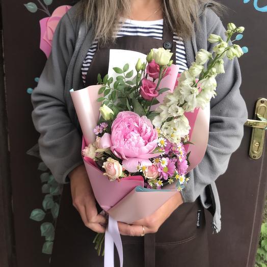 Букет Дюймовочка: букеты цветов на заказ Flowwow