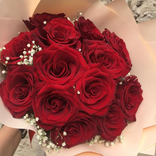 Red velvet: букеты цветов на заказ Flowwow