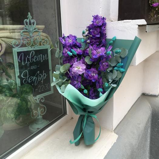 Изумрудная сказка: букеты цветов на заказ Flowwow