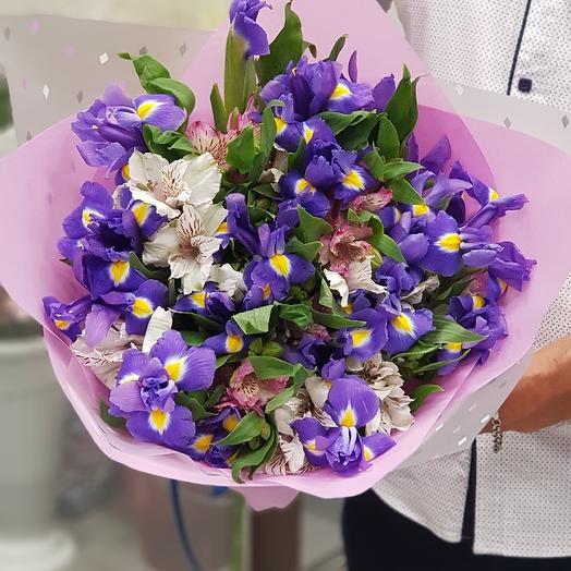 Цвет настроения  - синий: букеты цветов на заказ Flowwow