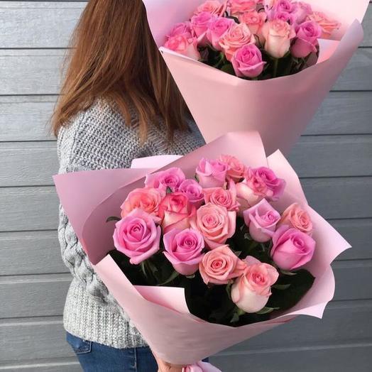 "17 роз ""Нежность"": букеты цветов на заказ Flowwow"