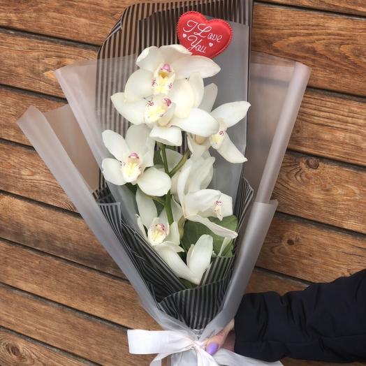 Букет из орхидеи