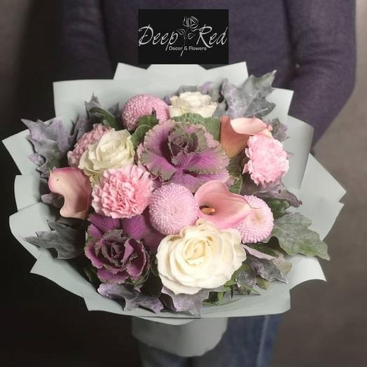 "Букет цветов ""Осенний"": букеты цветов на заказ Flowwow"