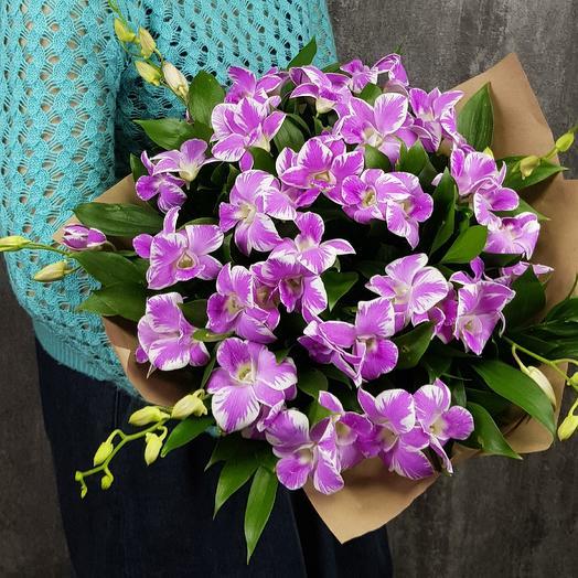 Тропические орхидеи: букеты цветов на заказ Flowwow