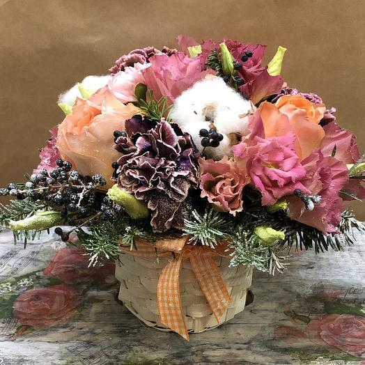 Зимнее настроение): букеты цветов на заказ Flowwow