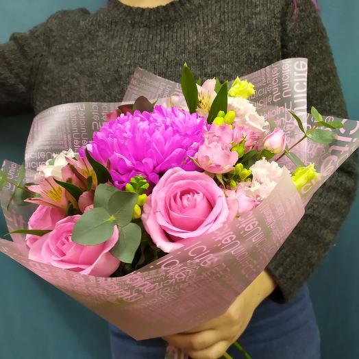 Pink flowers: букеты цветов на заказ Flowwow