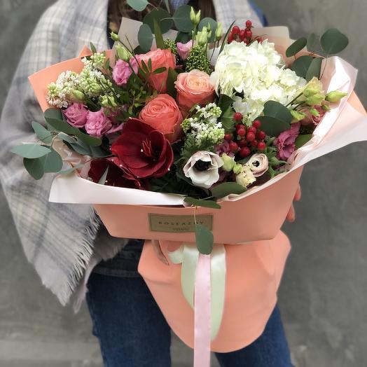 Delicate bouquet: flowers to order Flowwow