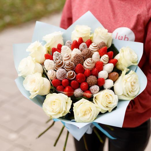 Сатурн М микс: букеты цветов на заказ Flowwow