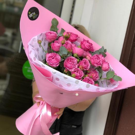 Пиончики кустовые: букеты цветов на заказ Flowwow