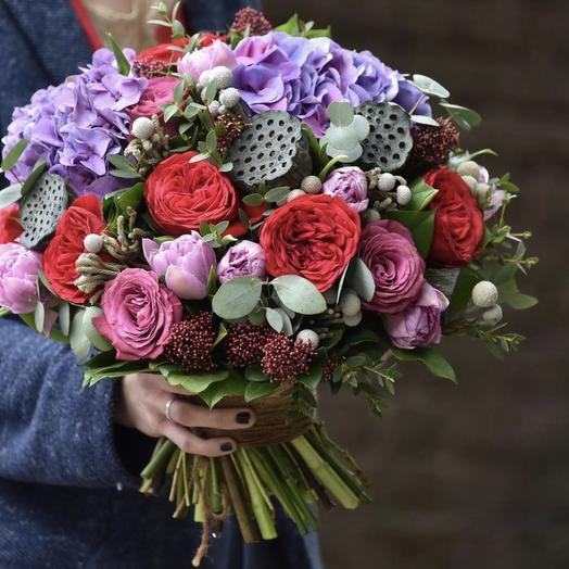 """Букет цветов """"Укрощение строптивой"""""""