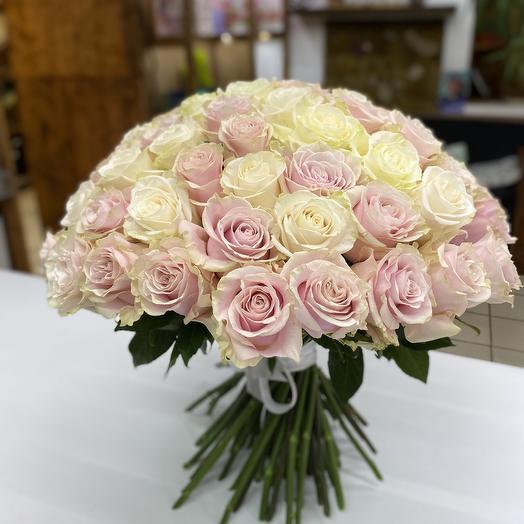 Нежный Шар из роз