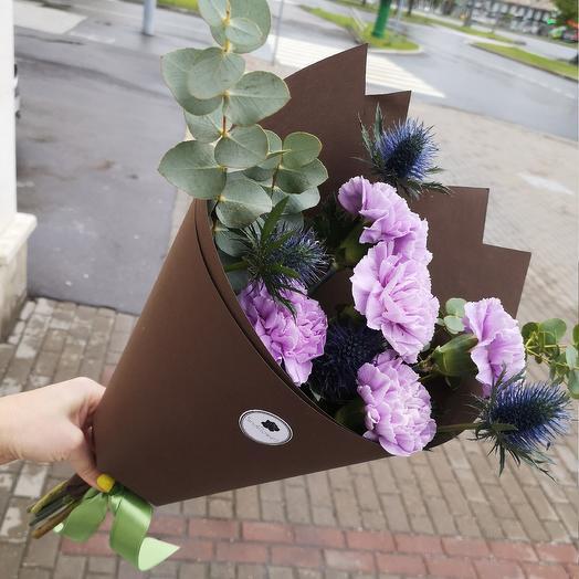 Букет летний вечер 🌃: букеты цветов на заказ Flowwow