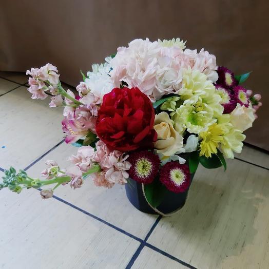 Композиция «Страсть»: букеты цветов на заказ Flowwow