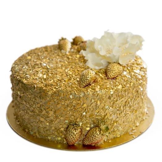 """Cake """"Golden rose"""""""