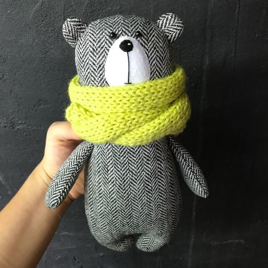 Мишка с шарфом