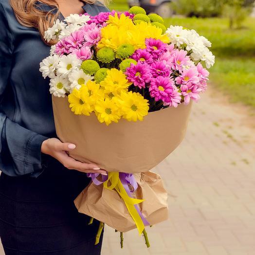 Обворожительные хризантемы