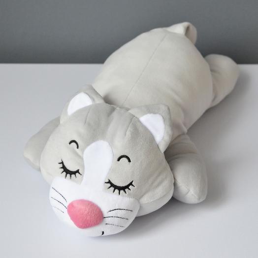 """Нежный сплюшка-подушка """"Котик"""""""