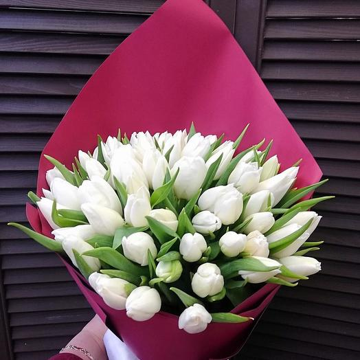 59 тюльпанов в оформлении