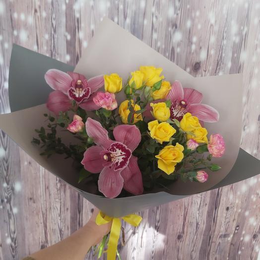 Bouquet of prefab