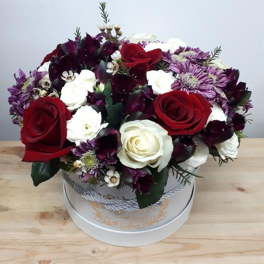 Flowers in a box mix