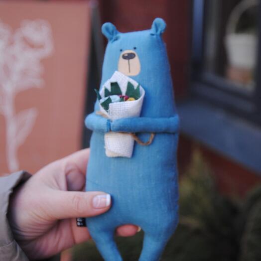 Игрушка Синий Мишка