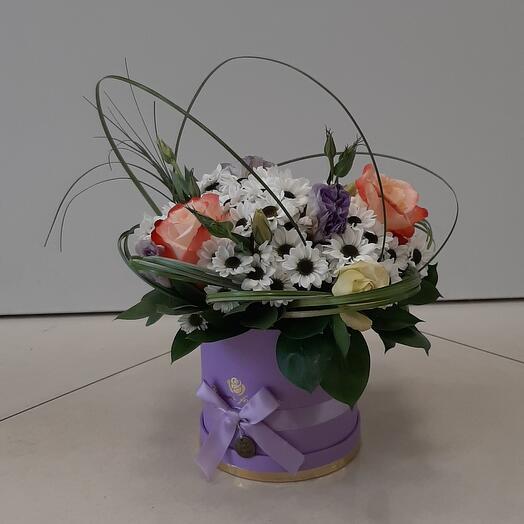 Цветы в коробке(Матильда)