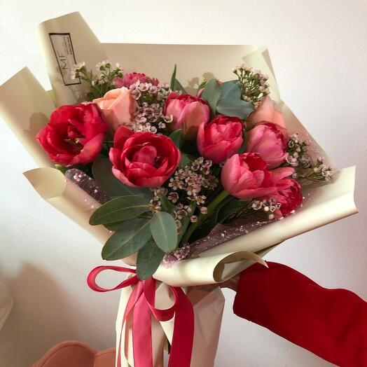 """Bouquet """" Coral»"""