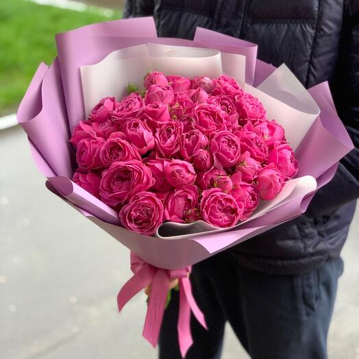 Пионовидная роза Мисти Баблс