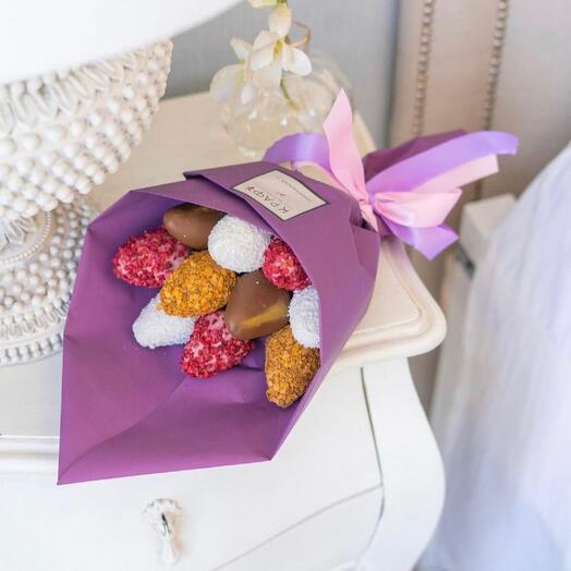 Bouquet-compliment purple