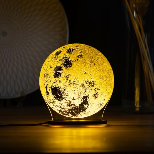 Лампа Луна (1 цвет подсветки)