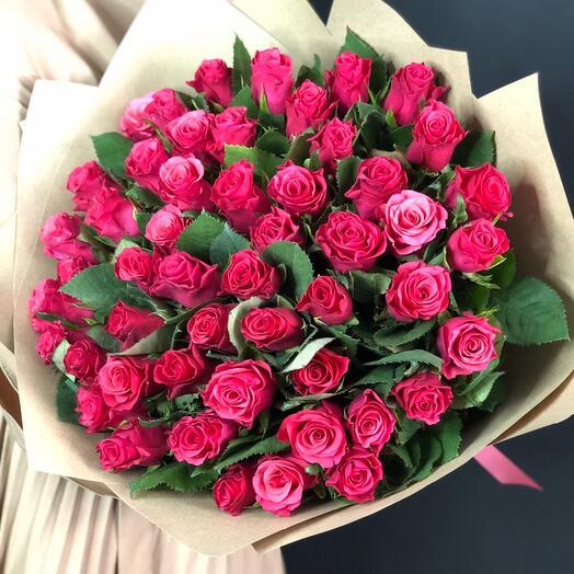 Букет «51 роза Berlin»