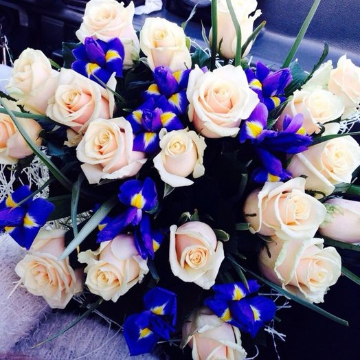 Букет Лунный свет: букеты цветов на заказ Flowwow