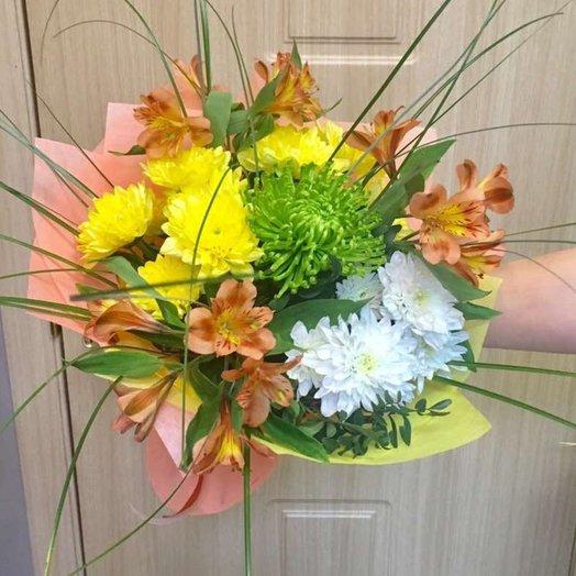 Букет Солнечный подарок Код БЦ-151777: букеты цветов на заказ Flowwow